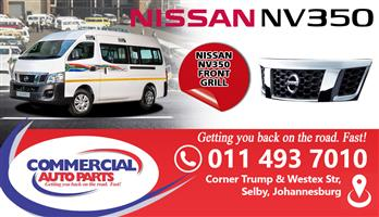 NISSAN NV350 FRONT GRILL FOR SALE