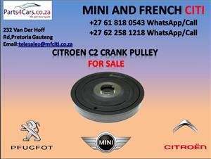 Citroen c2 crank pulley for sale