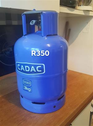 Cadac 3kg gas bottle for sale