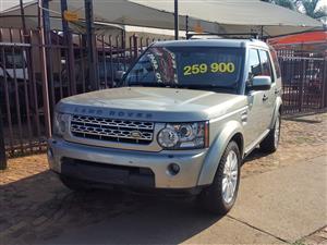 2012 Land Rover Discovery 4 SDV6 SE
