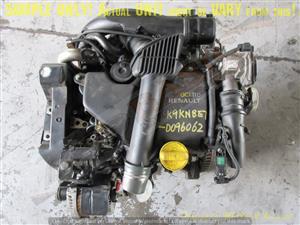 RENAULT K9KN837 1.5L DCI 16V Engine