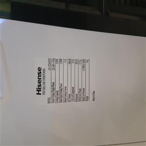 2x 12000btu Hisense Air conditioning units for sale.