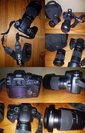 Sony Kamera & Lense te koop