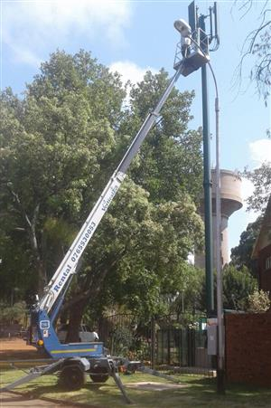 Cherry Picker VerticalZA Dino 180T - 18m, PORTABLE TRAILER-MOUNTED Electrical Manlift