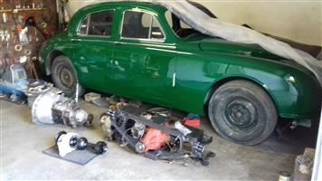 """Jaguar 420 Differential, """" 3,77 - 1 Diff. Ratio """""""