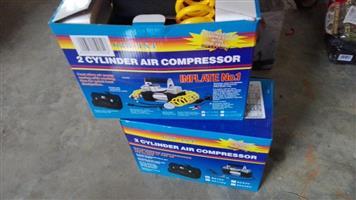 2 Cylinder air compressor