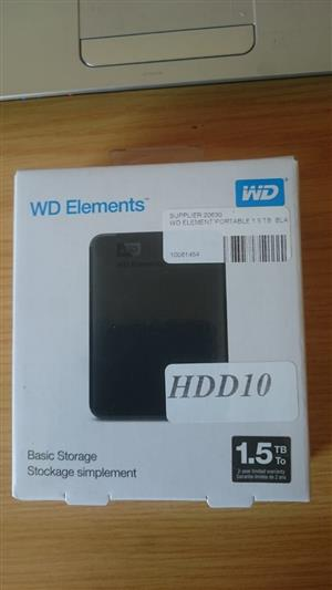 1.5 TB External Hard drive