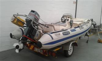 4,7 Cathull Rubber Duck with Yamaha 60hp