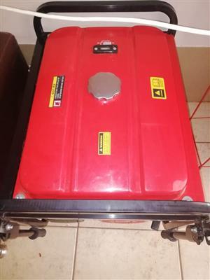 Ryobi 5000w petrol generator for sale