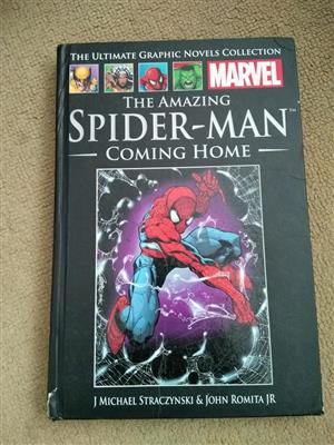 The amazing spiderman coming home book