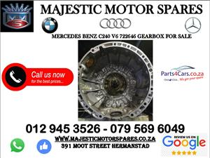 Mercedes benz c240 V6 gearbox for sale