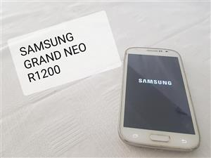 Samsung grand neo for sale