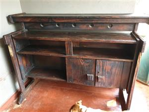 Wooden bar /cupboard