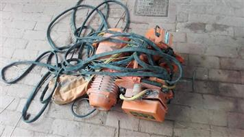 3 Ton Overhead 3 phase electric Hoist  In good working condition, we are moving and can not use it in new premises.