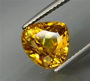 Beautiful earthmined zircon!