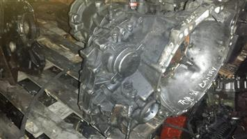 Isuzu 3.2 v6 6vdi twincams engine complete with gearbox