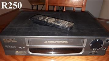 Sansui Video Cassette Recorder with Remote