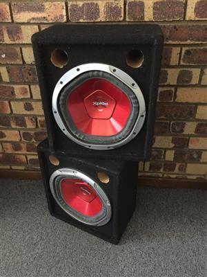"""Sony Explod Subwoofers 12"""" Brand new"""