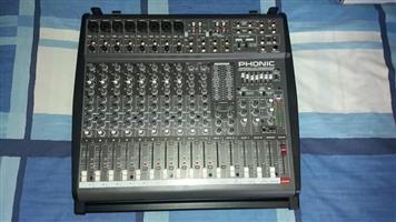 Brand new Phonic Powerkod K12 powered mixer
