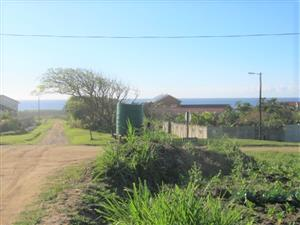 Vacant Land -Close to the Beach with Sea Views- for sale in Port Edward.