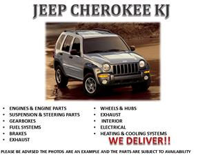 JEEP CHEROKEE KJ 2.5 – 2.8 – 3.6 USED BODY SPARES FOR SALE- CALL NOW