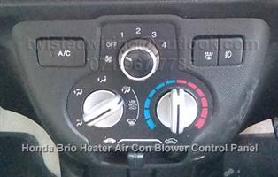 Honda Brio Heater Air Conditioner Control Panel Unit  2012 to 2016