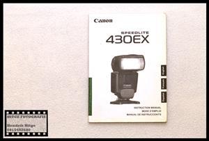 User Manaul - Canon Speedlite 430EX