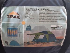 Trail Gazebo and Tent