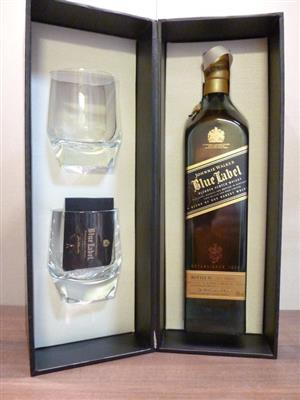 Johnnie Walker - Blue Label Gift Set With Crystal Glass