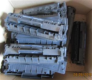 Assorted Laser Printer Cartridges for Recycling