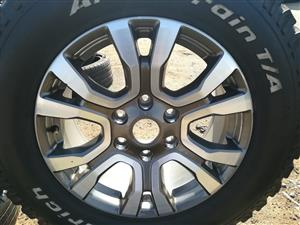 Ford Ranger Wild Track 2018 Wheels for sale