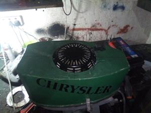 Boat with troling motor and petrol motor for sale
