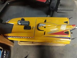 petrol remote boat