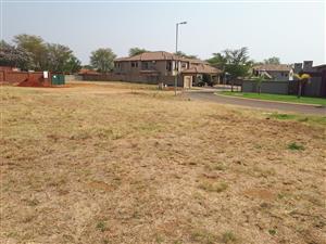 VACANT STAND IN ZAMBEZI COUNTRY ESTATES IN MONTANA PRETORIA