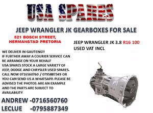 JEEP WRANGLER JK 3.8 GEARBOX FOR SALE