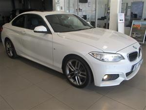 2015 BMW 2 Series 220d coupe M Sport auto