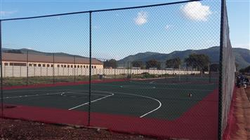 Tennis Courts Fencing Kroonstad 0846941581