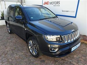 2015 Jeep Compass 2.0L Limited auto CVT