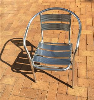 Aluminum Stackable chairs