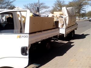Truck for Hire in Pretoria, Sunnyside and Arcadia