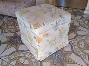 Large ottoman for sale.