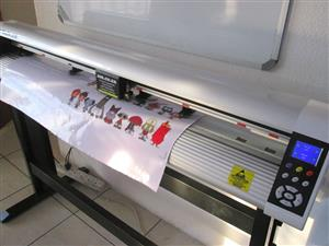 V6-1504 V-Auto Superfast Wireless Vinyl Cutter 1500mm, Automatic Contour Cutting Function