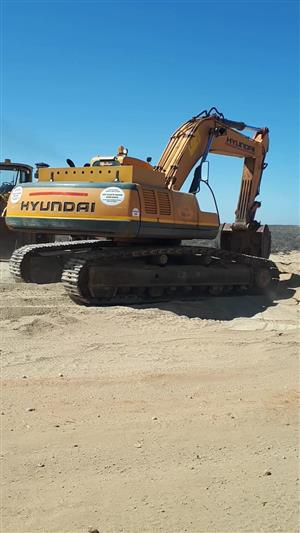 Hyundai 360-3 Robex Excavator