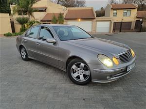 2006 Mercedes Benz E Class E320CDI Avantgarde