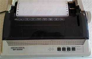 Seikosha SP-2000 Dot matrix Printer