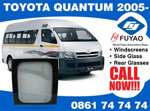 Brand new sidedoor glass for sale for Toyota Quantum 2005- #TY73-005