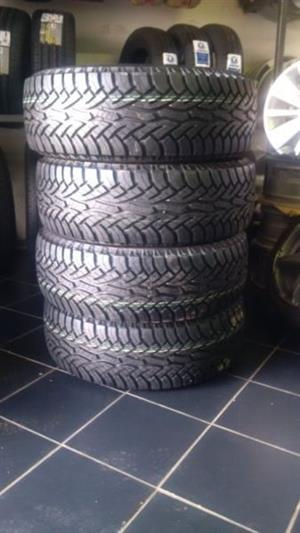 Continental Cross Contact 17'' brand new SUV'S AND BAKKIE TYRES