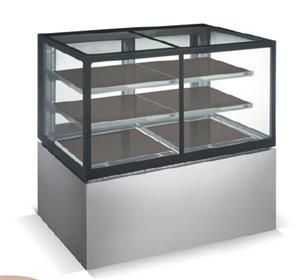 DISPLAY CABINET COMBO [HOT/COLD] - F/STAND - 1500mm SALVADORE-DCC1500