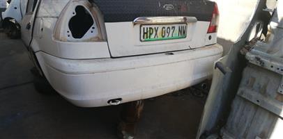 Frond ikon rear bumper