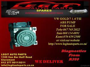 VW GOLF 7 1.4 TSI ABS PUMP FOR SALE